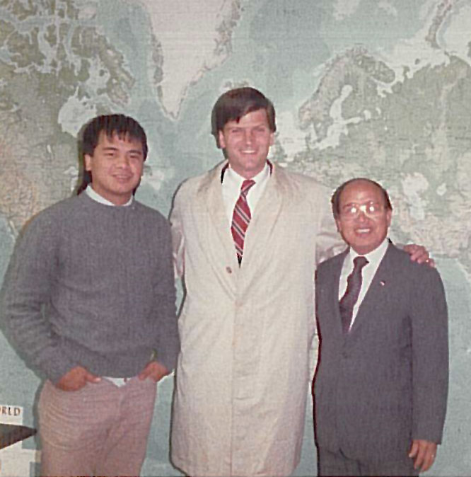 John Pudaite, Franklin Graham and Rochunga Pudaite